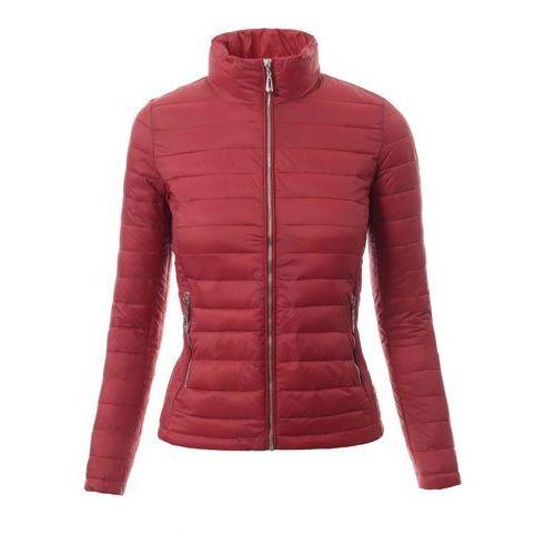 Damska kurtka wiosenna w kolorze bordowym
