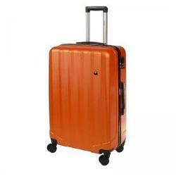 Dielle d90 arancio walizka abs 4k l duża 76 cm