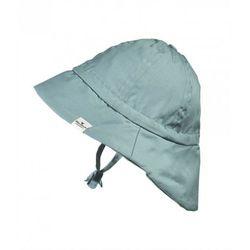- kapelusz przeciwsłoneczny pretty petrol, 0-6 m-cy marki Elodie details