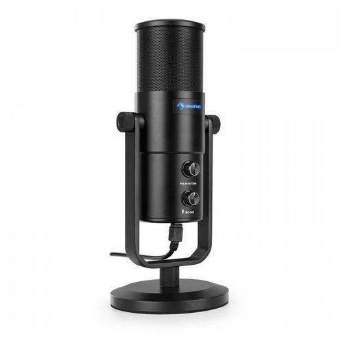 Studio M USB mikrofon pojemnościowy wielkomembranowy statyw stołowy