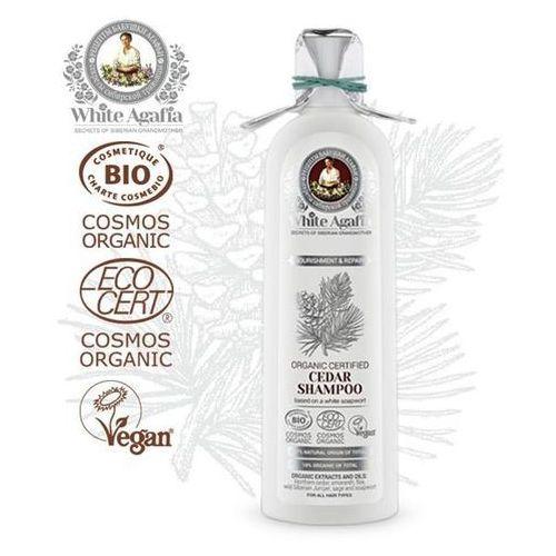 Bania agafii white agafia cedrowy szampon do włosów odżywienie i regeneracja 280ml