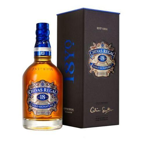 Chivas brothers Whisky chivas regal 18yo gold signature 0,7l (5000299225004)