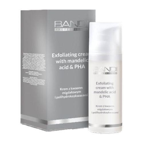 Bandi professional line exfoliating cream with mandelic acid & pha krem z kwasem migdałowym i polihydroksykwasami (hx03) - foto produktu