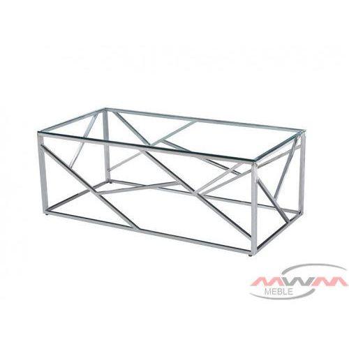 Stolik Kawowy Metalowy Chrom Szkło Cs 05 90x60 Cm 3a60 5152d Meblemwm
