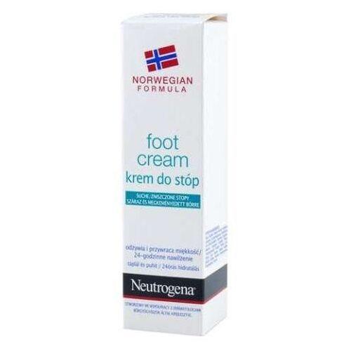 Johnson&johnson Neutrogena krem d/stóp suche/zniszczone stopy 50ml - Niesamowita oferta