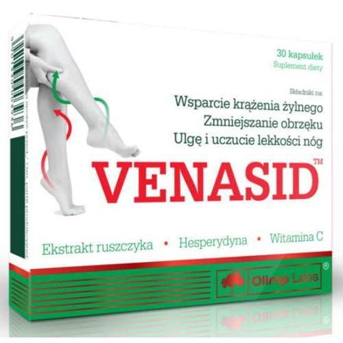 OLIMP Venasid x 30 kapsułek - data ważności 18-07-2018r.