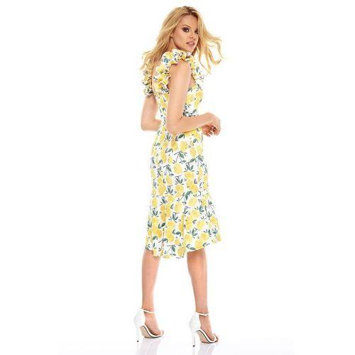 21726068d0 Sukienka La Maya w kolorze białym