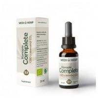 Medihemp Complete 2,5 naturalny olejek CBD/CBDa z ekstrakcji CO2 30 ml