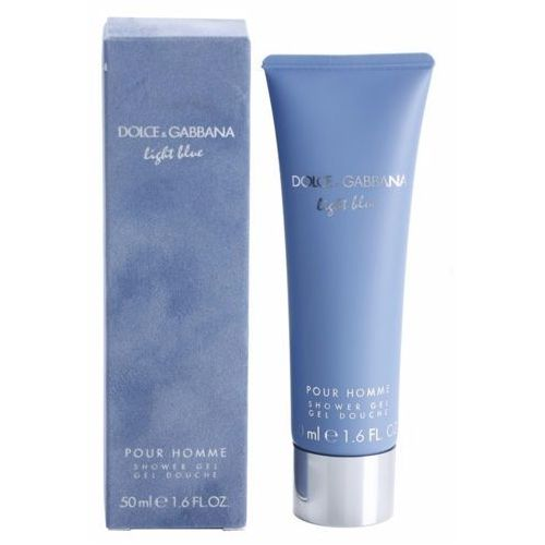 Dolce & gabbana light blue pour homme, żel pod prysznic, 50ml