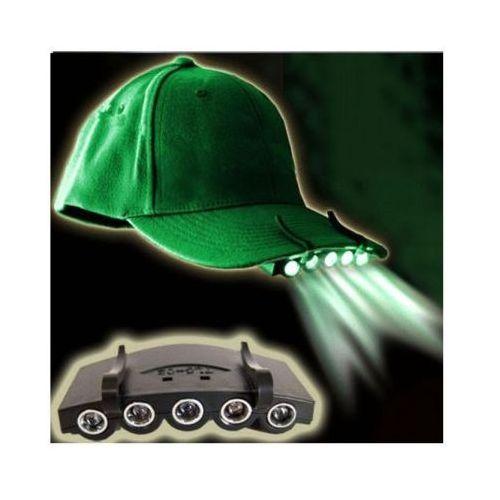 S.t.i. ltd. Latarka (5x led) czołowa na czapkę z daszkiem