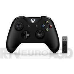 xbox one kontroler bezprzewodowy + adapter dla windows 10 marki Microsoft