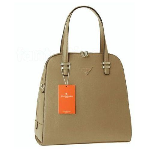 0d42e2ab7e050 Beżowa torebka damska - beżowy (David Jones) - sklep SkladBlawatny.pl