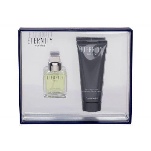 eternity for men zestaw 30 ml edt 30 ml + żel pod prysznic 100 ml dla mężczyzn marki Calvin klein