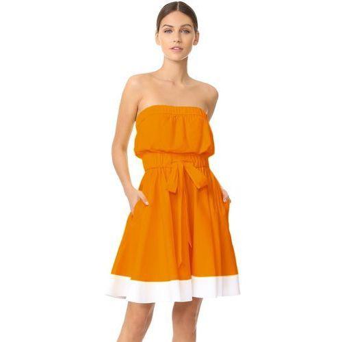 Sukienka LAURIE ORANGE, kolor pomarańczowy