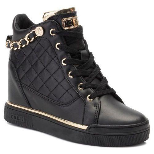 Sneakersy - fraser fl7fra ele12 black/gold marki Guess