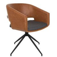 Zuiver Fotel BEAU brązowy 1200128, 1200128