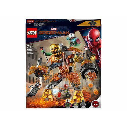 76128 BITWA Z MOLTEN MANEM (Molten Man Battle )- KLOCKI LEGO SUPER HEROES