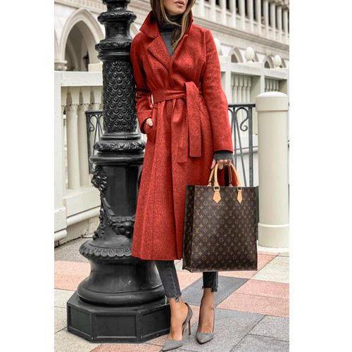 Płaszcz damski LINESA RED, kolor czerwony