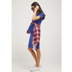 MAMALICIOUS MLANETTE Sukienka z dżerseju deep ultramarine z kategorii sukienki ciążowe