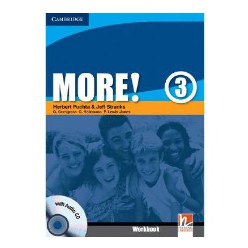 More!, Level 3, Workbook (zeszyt ćwiczeń) with Audio CD, Cambridge University Press