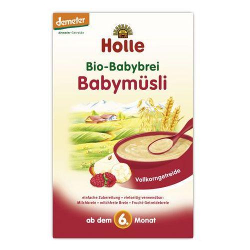 Holle - bezmleczna kaszka musli malinowo-bananowa 250g eko marki 175holle