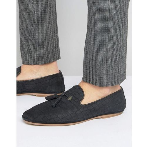 House of hounds croc suede tassel loafers black ceny opinie promocje sklep airtime House sklep buty meskie
