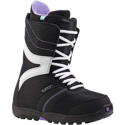 Burton Snb damskie buty - coco black/purple 026 (026) rozmiar: 36.5