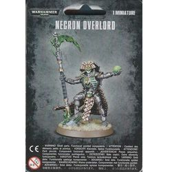 Gamesworkshop Necron overlord (49-20)