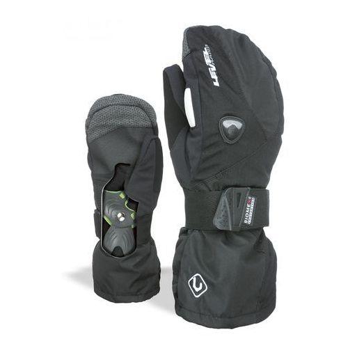Level rękawice narciarskie męskie fly mitt black 9,5 - xl