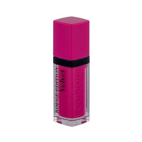 Bourjois Rouge Edition Velvet szminka w płynie z matowym wykończeniem odcień 06 Pink Mat 7,7 ml, BOU-VEM05 - Godna uwagi przecena