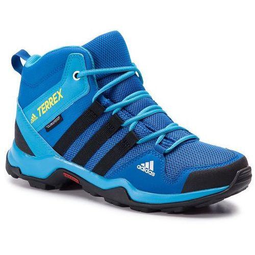 Adidas Buty - terrex ax2r mid cp k bc0673 blubea/cblack/shoyel