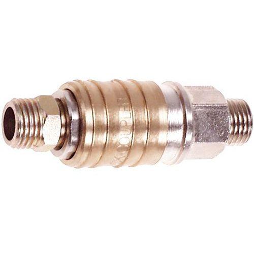 Neo Szybkozłączka do kompresora 12-646 gwint zewnętrzny męska z końcówką 3/8 cala (5907558417982)