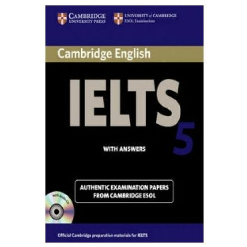 Cambridge IELTS 5 Self-study Pack (Student's Book with Answers and Audio CDs (2)) (9780521677028)