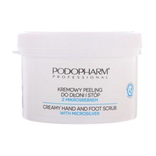 Podopharm creamy hand and foot scrub with microsilver kremowy peeling do dłoni i stóp z mikrosrebrem