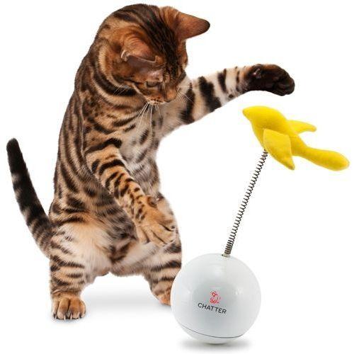 Behawioralna zabawka kota na sprężynce Chatter FroliCat