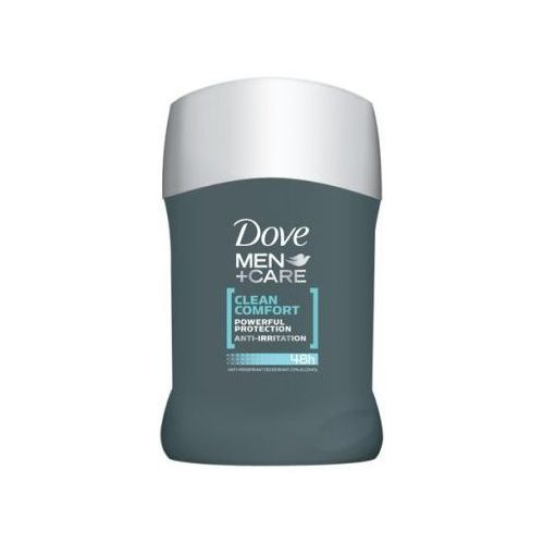Unilever Dezodorant dove men plus care clean comfort antyperspirant w sztyfcie 50 ml