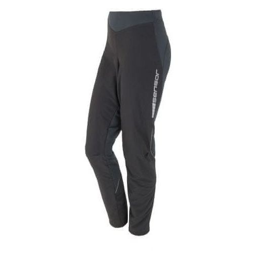 Sensor spodnie rowerowe W Black S