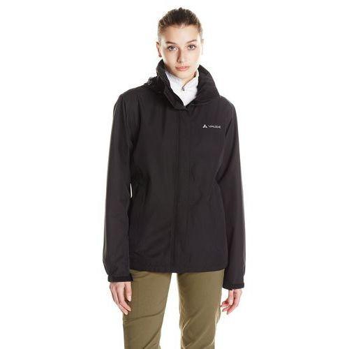 women escape light jacket kurtka przeciwdeszczowa black, Vaude, 34-48
