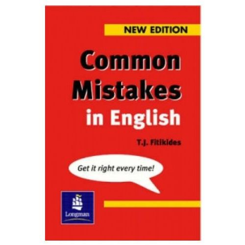 Common Mistakes In English, TJ Fitikides