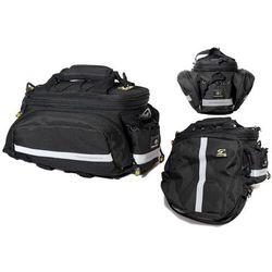 Sport arsenal Sakwa na bagażnik 480, 3 komory, 15l czarna