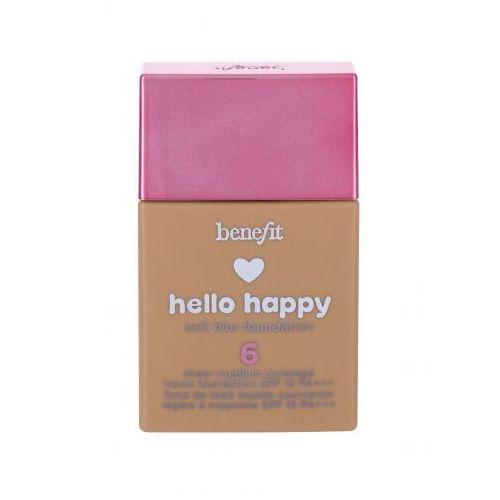 Hello happy spf15 podkład 30 ml dla kobiet 06 medium warm Benefit - Najlepsza oferta