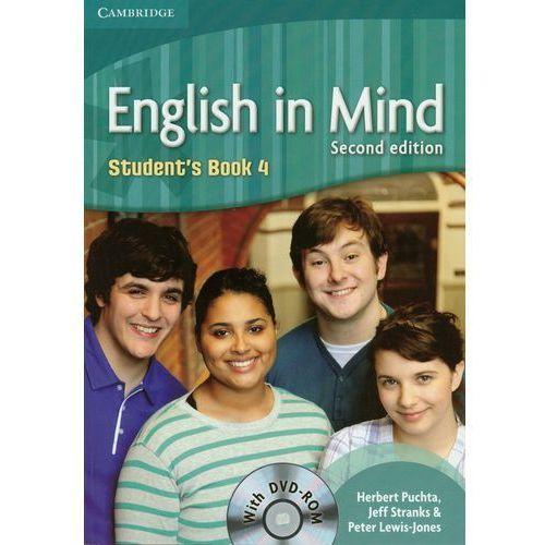 English In Mind 4 Student's Book Z Płytą Dvd, oprawa miękka
