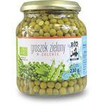Bio europa (strączkowe, kukurydza w puszkach, miód Groszek zielony w zalewie w słoiku bio 350 g (230 g) - bio europa