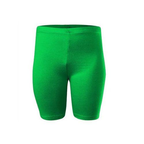 Rennwear Legginsy - krótkie zielone - zielony