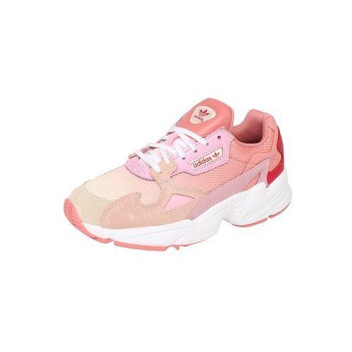 originals trampki niskie 'falcon' jasnofioletowy / różowy / czerwony marki Adidas