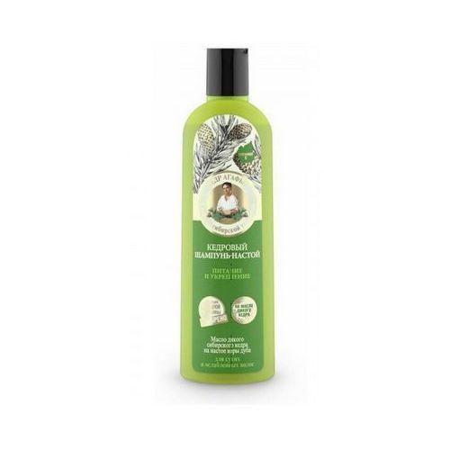 Babuszka agafia cedrowy szampon – napar do włosów - odżywienie i wzmocnienie 280ml Eurobio lab, estonia