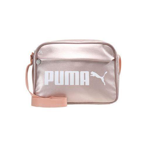 f994cabb046c4 Puma CAMPUS REPORTER Torba na ramię peach beigemetallic (4059504718283) - 1
