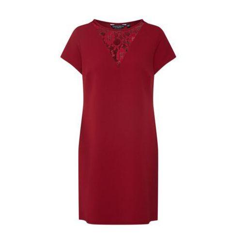 sukienka ciemnoczerwony marki Dorothy perkins