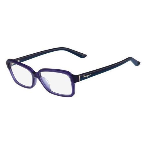 Salvatore ferragamo Okulary korekcyjne sf 2680 424