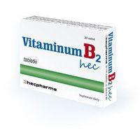 Tabletki VITAMINUM B2 HEC x 60 tabletek